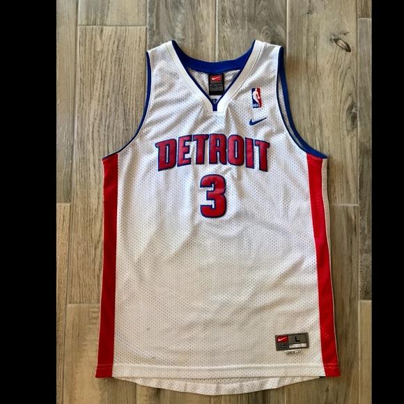 on sale f4c7d 4b0fe Ben Wallace Detroit Pistons Jersey🔥
